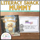 Literacy Snack Idea Mummy