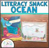 Literacy Snack Idea Ocean