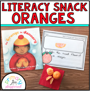 Literacy Snack Idea Oranges