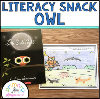 Literacy Snack Idea Owl