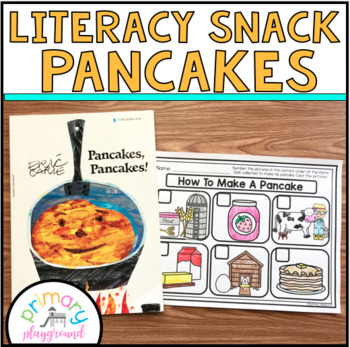 Literacy Snack Idea Pancakes