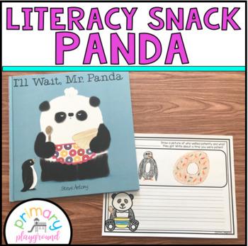 Literacy Snack Idea Panda