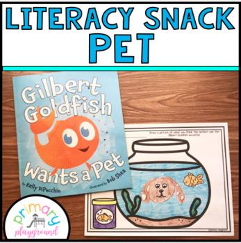 Literacy Snack Idea Pet