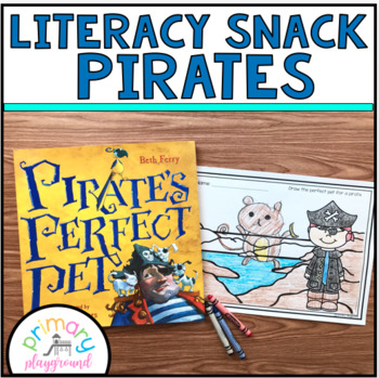 Literacy Snack Idea Pirates