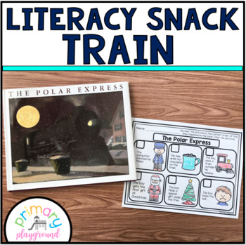 Literacy Snack Idea Train