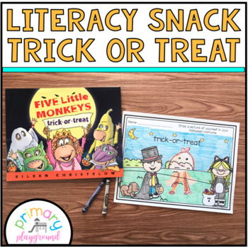 Literacy Snack Idea Trick or Treat