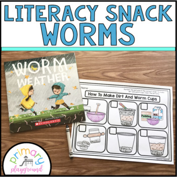 Literacy Snack Idea Worms
