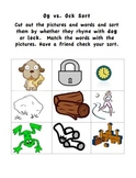 Literacy Sorts for Beginning Readers