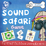 Sound Safari Phonics Letter Sounds (a-z) Game
