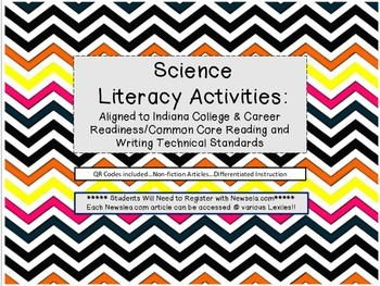 Literacy Squares: Non-Fiction Texts in Science