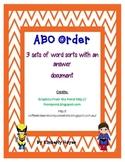 Literacy Station -ABC Order (Superhero theme)