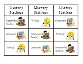 Literacy Station Bookmarks