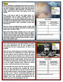 Literacy Station Cards: Supporting and Disproving Claims