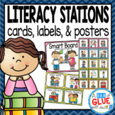 Literacy Stations and Centers Labels