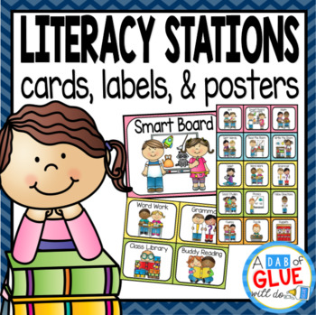 image relating to Printable Literacy Centers First Grade named Literacy Stations and Facilities Labels