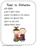 Literacy Station / Centers  Anchor Charts with regular lis