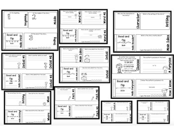 Literacy Station Flip books