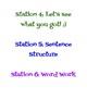 Literacy Station Ideas