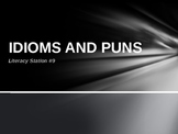 Literacy Station: Idioms and Puns