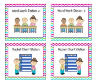 Literacy Station Mega Pack Starter Kit