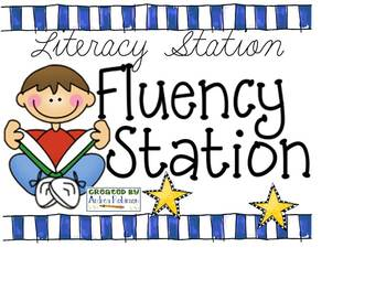Literacy Station Posters