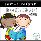 Literacy Station Printables