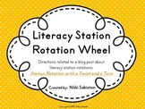 Literacy Station Rotation Wheel