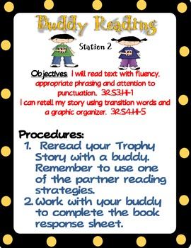 Literacy Station Script-Hollywood Style