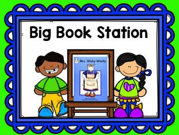 Literacy Station Signs
