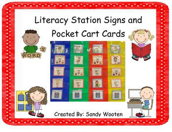 Literacy Station Signs and ... by Sandy's Learning Reef | Teachers ...