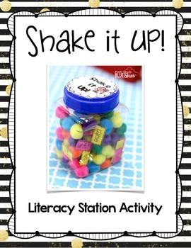 Literacy Station Word Game: Shake It UP!