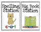 Literacy Station Cards and Signs