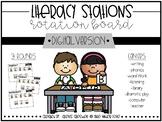 Literacy Stations Digital Rotation Board