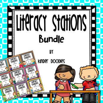Literacy Stations Yearly Bundle