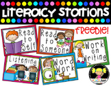Literacy Stations Posters