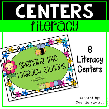 Literacy Centers for First and Second Grade