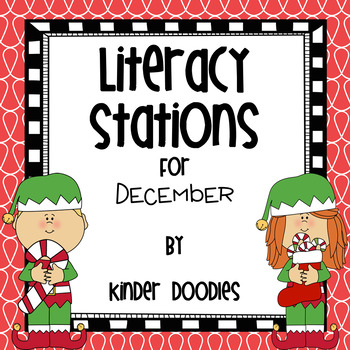 Literacy Stations for December