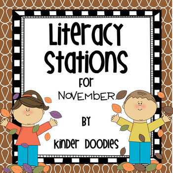 Literacy Stations for November