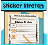 Literacy Sticker Stretch