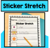 Literacy Sticker Stretch
