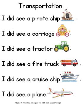 Level 3 Literacy Stories