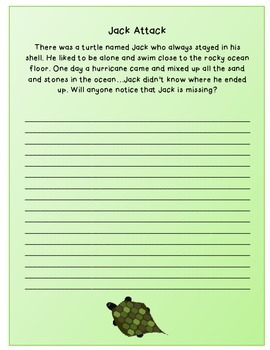 Literacy Story Prompts