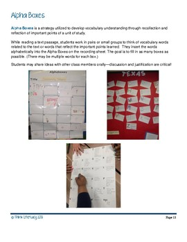 Literacy Strategies for Fiction and Nonfiction Text Set A
