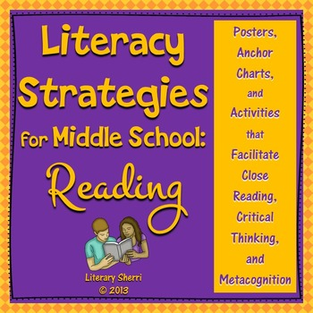 Literacy Strategies for Middle School: Reading (Grades 5, 6, 7, 8)