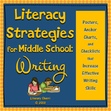 Literacy Strategies for Middle School: Writing (Grades 5, 6, 7, 8)