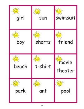 Literacy Summer Fun - Grammar, Mechanics & More to Support Common Core