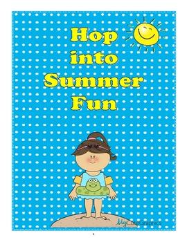 Literacy Summer Fun - Grammar, Mechanics & More to Support