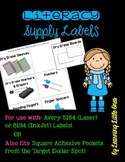 Literacy Supply Labels