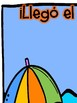 Literacy Syllables Game in Spanish- Summer theme