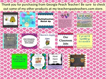 Literacy Task Cards - Parts of Speech - CCSS